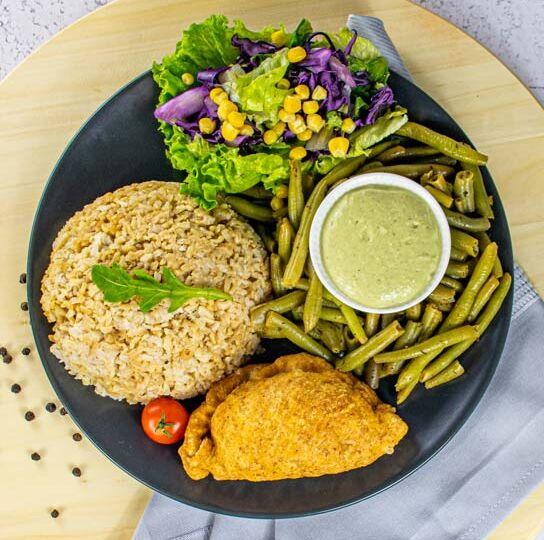 vegansko jelo