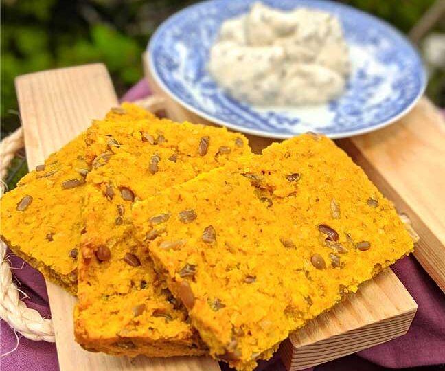 proteinska tofu pogača